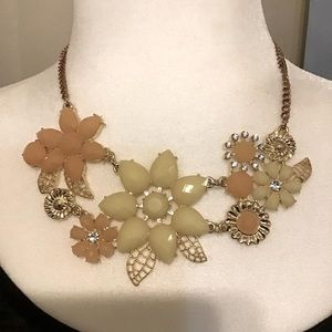 Flower Necklace. New